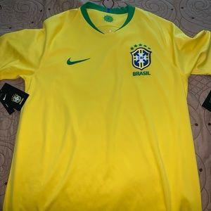 Brazil Men's soccer Jersey Authentic